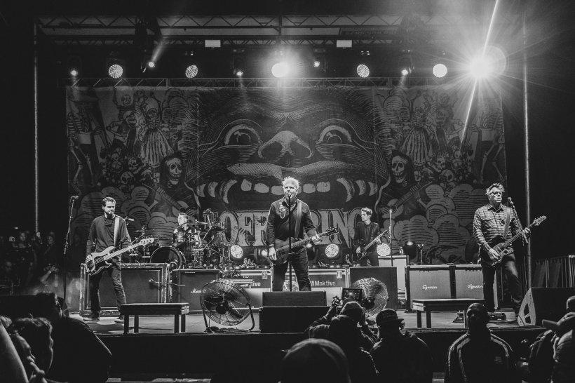Legendara trupă rock The Offspring va concerta, în premieră, în România
