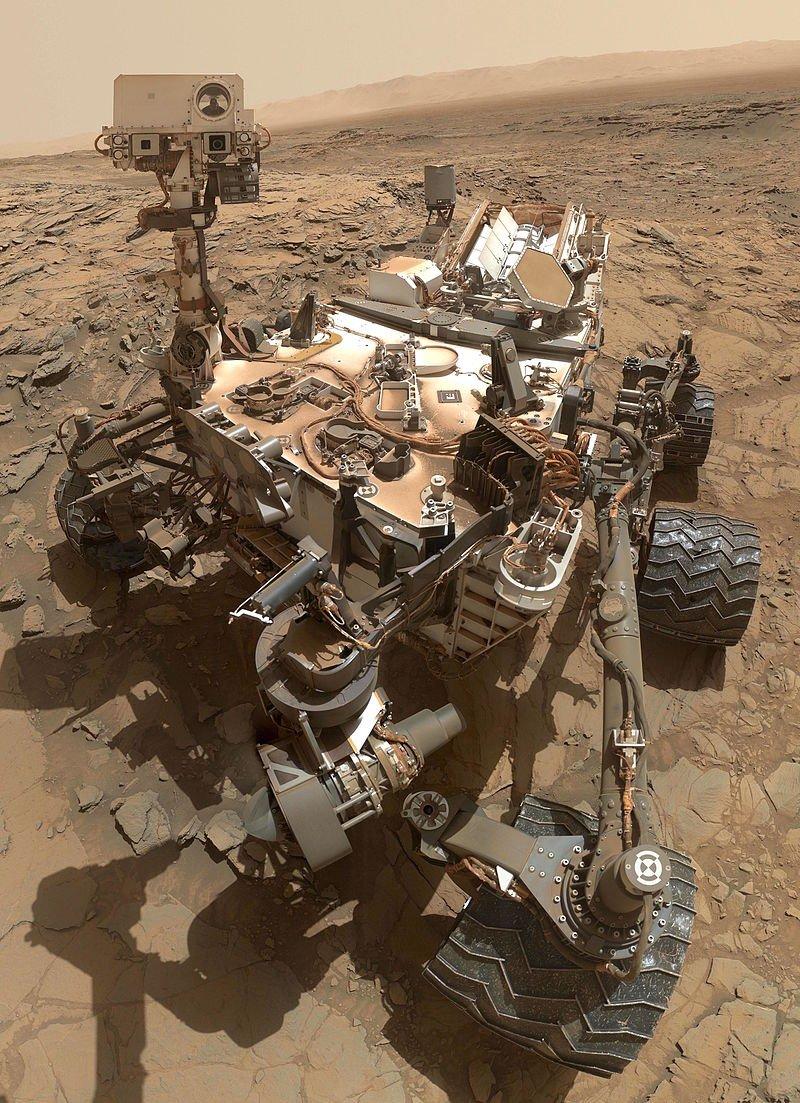 Descoperire importantă pe Marte. Ce a găsit roverul Curiosity