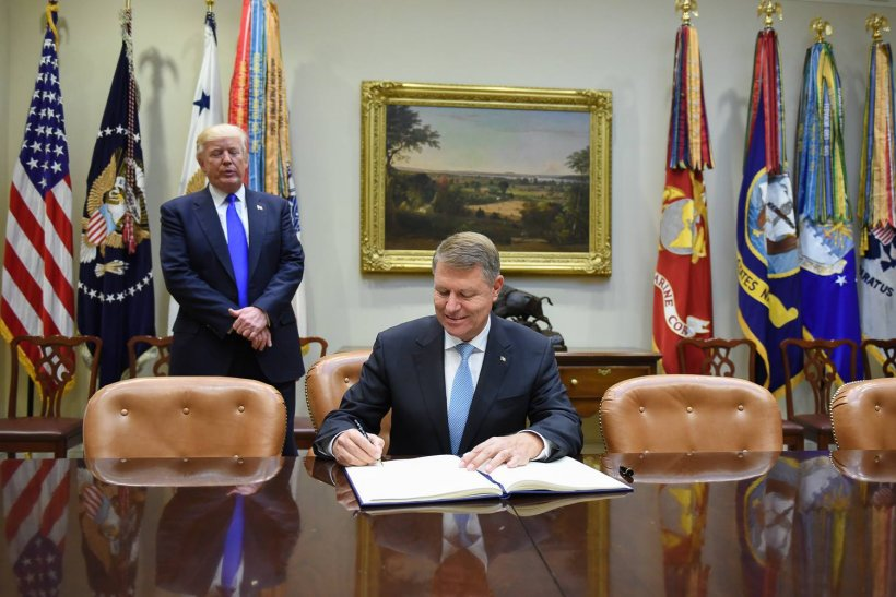 Prima reacție a președintelui Klaus Iohannis, după întâlnirea cu Donald Trump 482