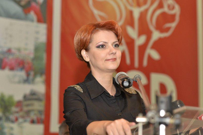 """Lia Olguţa Vasilescu, după votul moțiunii: """"PSD a avut un vot favorabil chiar şi fără minorităţi"""""""
