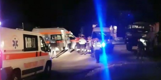 Trei tinere au ajuns la spital, după ce au căzut dintr-un carusel la Mediaş