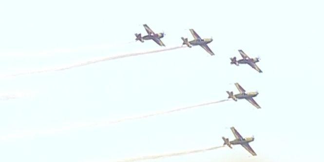 Spectacol pe cerul Capitalei. BIAS, cel mai mare show aerian al anului - VIDEO și GALERIE FOTO