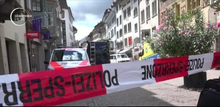 Panică în Elveția. Un bărbat a atacat cu o drujbă angajații unei companii de asigurări de sănătate