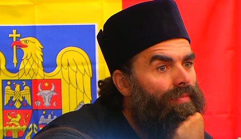 Cine este falsul călugăr care a făcut scandal la dezbaterea privind noua carte de identitate