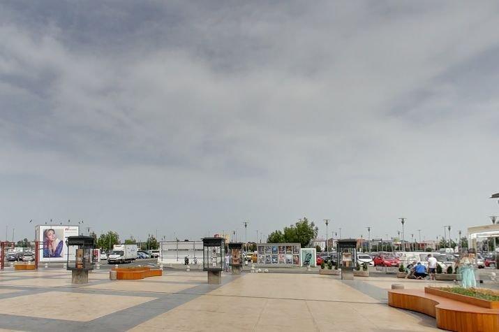 Sechestru asigurator la Parcul comercial Băneasa
