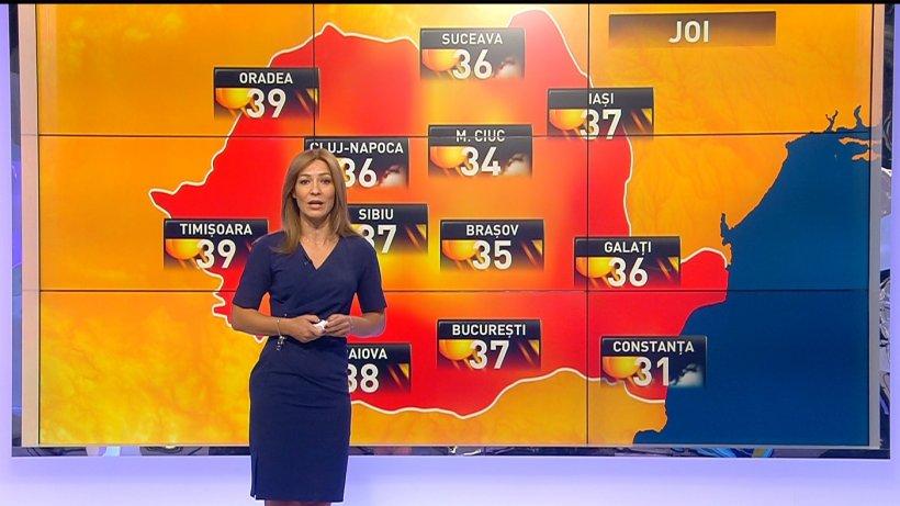 Prognoza meteo. Vremea se menţine caniculară în mai toată ţara