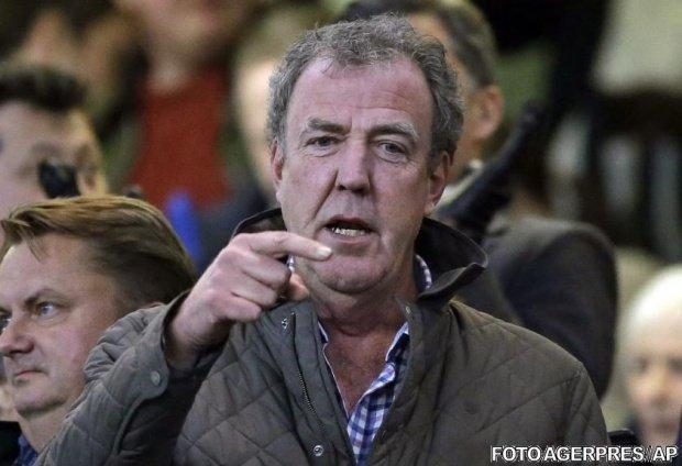 Prezentatorul TV Jeremy Clarkson, internat de urgență