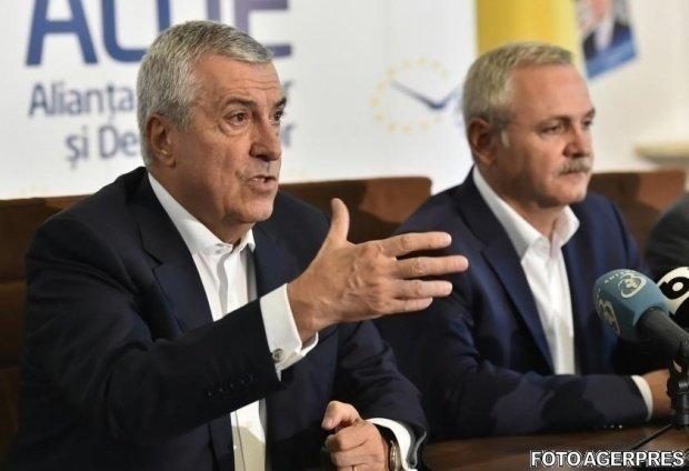 Ședința coaliției PSD-ALDE, în biroul lui Liviu Dragnea