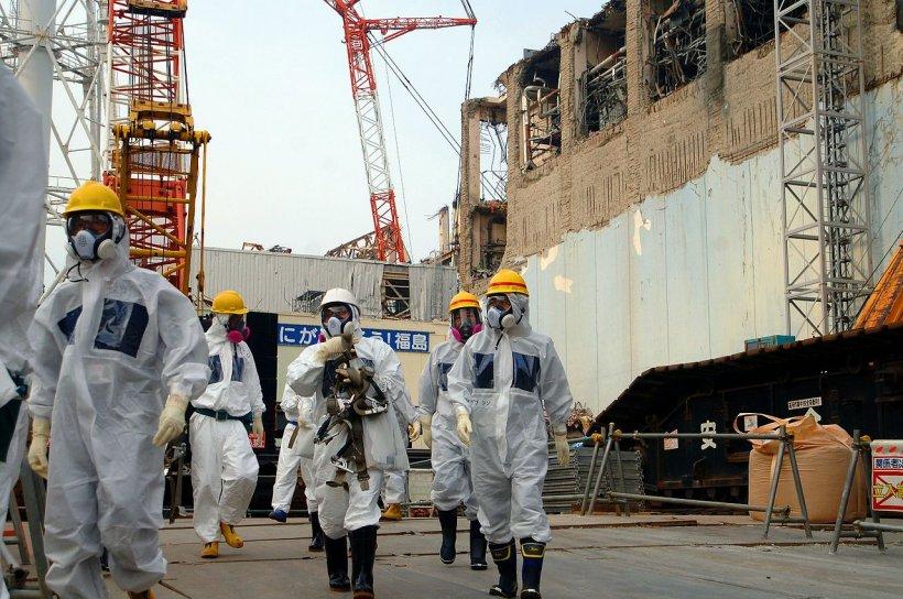 Bombă găsită în interiorul centralei nucleare de la Fukushima
