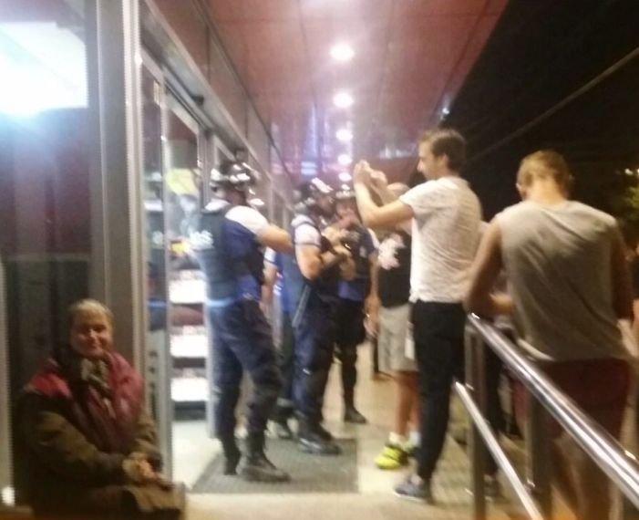 Bărbatul care a făcut scandal într-un supermarket din Capitală a fost arestat preventiv