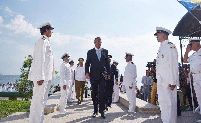 Iohannis, de Ziua Marinei: Armata va avea tehnică modernă. Partenerii noștri ne apreciază extrem de mult
