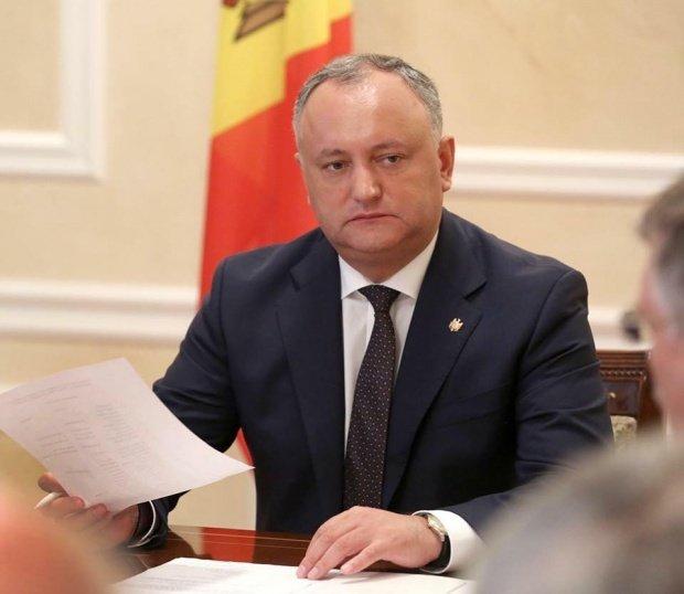 Igor Dodon denunţă ideea unirii cu România