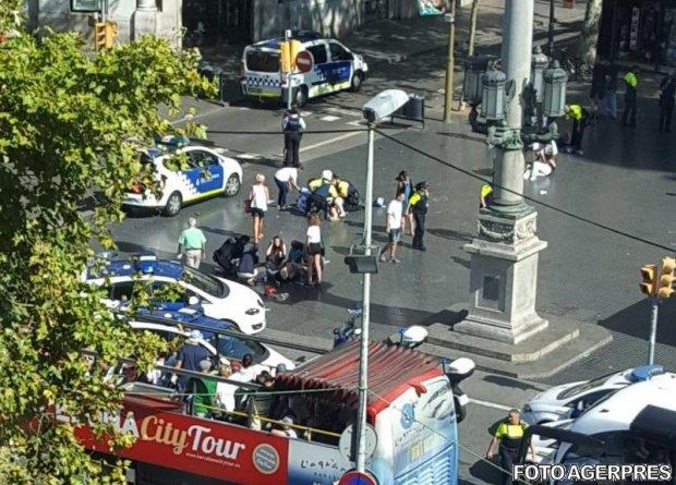Mașina jihadiștilor atentatului din Barcelona, prinsă de radar în Franța