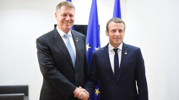 Emmanuel Macron, întâlnire cu Klaus Iohannis în România. Care va fi programul celor doi șefi de stat