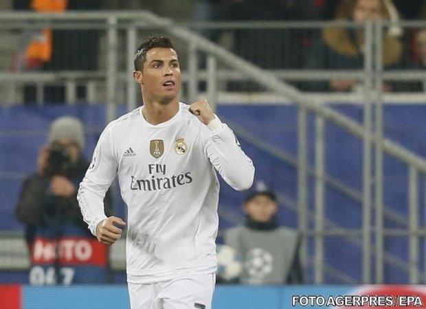 Cristiano Ronaldo, ales jucătorul sezonului 2016-2017 în Europa