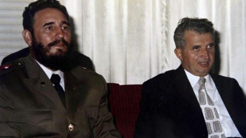 """În 1972, Ceaușescu îl primește pe Fidel Castro la București. Punea la cale o afacere profitabilă, însă """"El Lider Maximo"""" avea cu totul altceva în gând"""