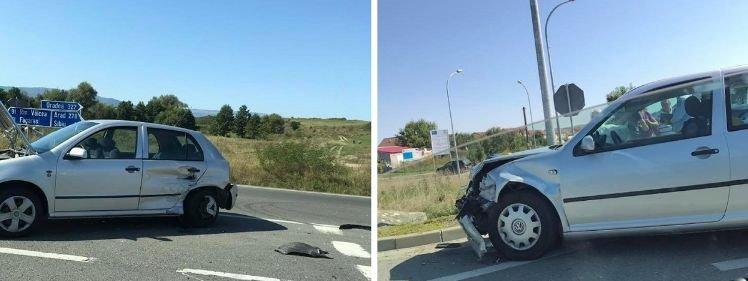 Accident pe DN 1. Două handbaliste străine, rănite