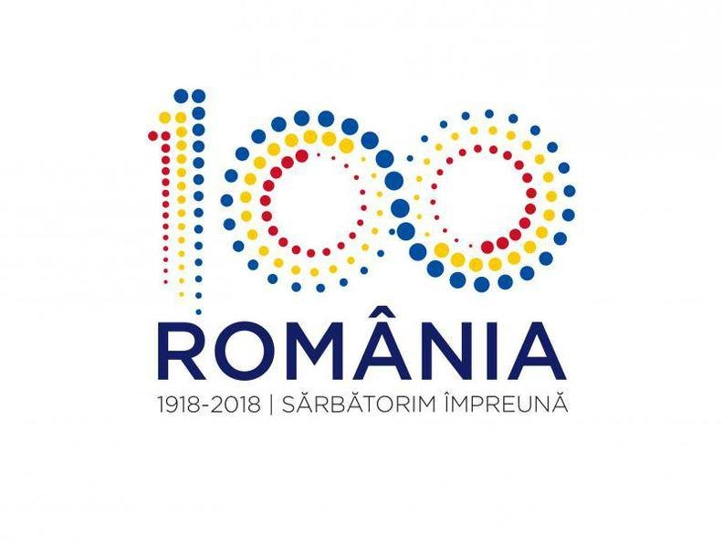Gafă în logoul Centenarului Marii Uniri. Ce greşeală s-a strecurat