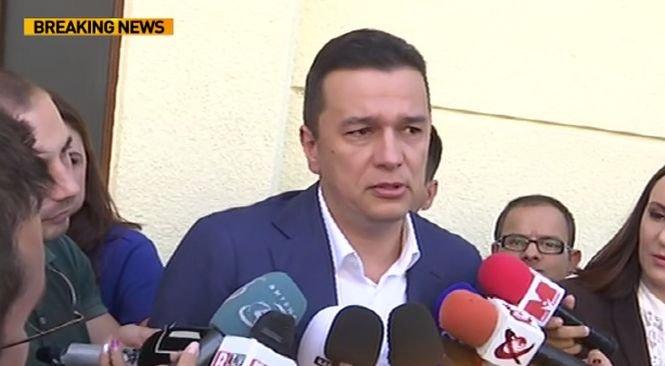 """Sorin Grindeanu a fost audiat la DNA: """"Calitatea mea e cea de martor"""""""