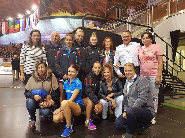 România a câștigat aurul la Europenele de tenis de masă de la Luxemburg