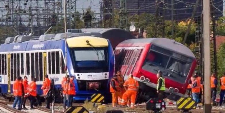 Accident feroviar în sudul Germaniei. Sunt mai multe victime - VIDEO