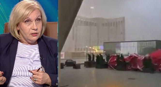 """EXCLUSIV. Explicațiile directorului ANM despre furtuna produsă în vestul României: """"În mai puţin de jumătate de oră, temperatura a scăzut de la 32 grade la 16"""""""