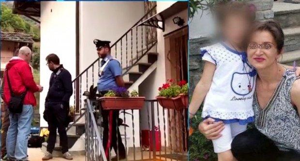 """Bona fetiței de șase ani, ucisă de mamă în Italia, face dezvăluiri tulburătoare: """"Și cu dinții mușca din fetiță"""""""