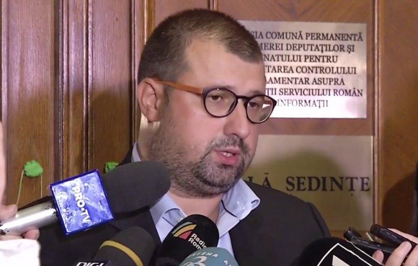 Colonelul Dragomir, după audierea în Comisia SRI: Am propus o listă de 65 de persoane care să fie audiate