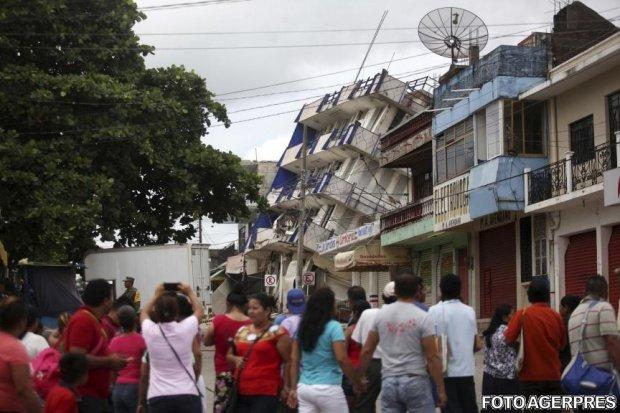 Haos în Mexic. Mai multe clădiri s-au prăbușit - VIDEO