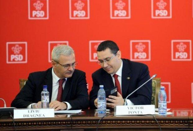 Liviu Dragnea: Ponta era cu mâna pe sus să-l cheme DNA la audieri. Îi urez tot ce-mi doreşte şi el mie, cu mare drag