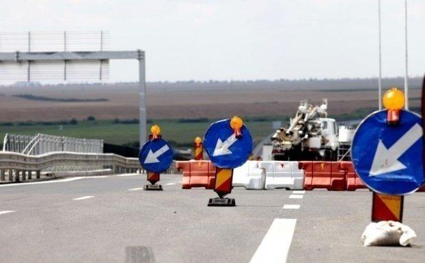 Încă un tronson din Autostrada Transilvania a luat-o la vale