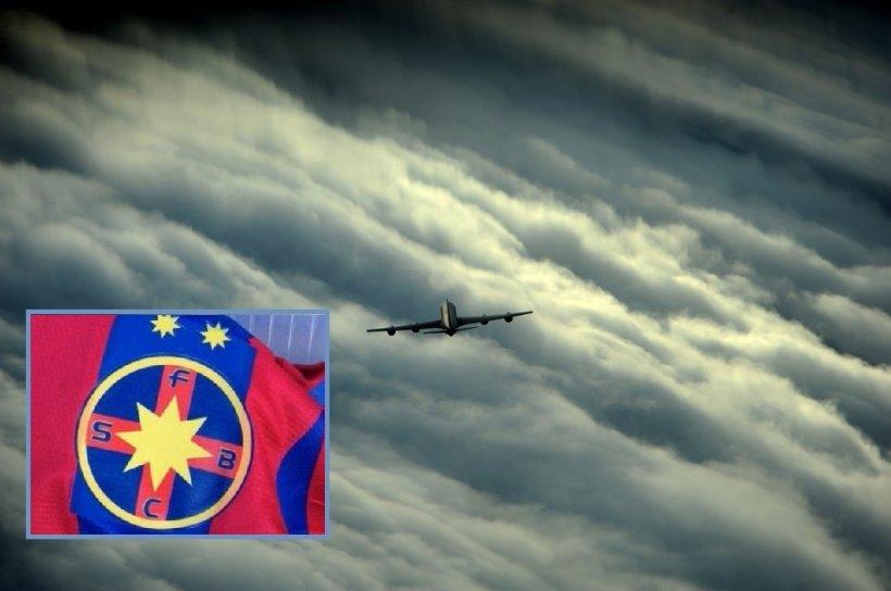 Panică în avionul FCSB din cauza unor explozii. Jucătorii au început să urle disperați!