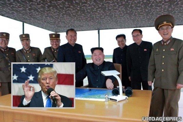 """Război verbal Washington-Phenian. Donald Trump amenință, după ce liderul nord-coreean l-a numit """"nebun și senil"""""""