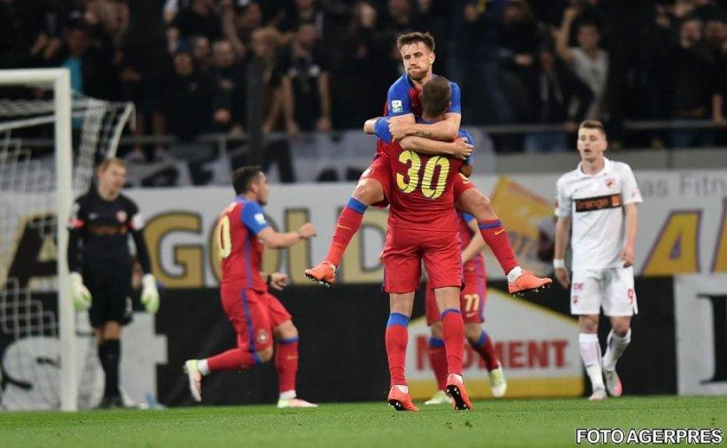 FCSB ratează penalty în meciul cu Dinamo. Debut nefericit pentru Miriuță