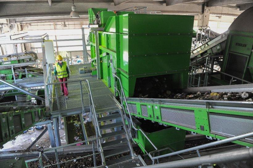Rom Waste Solutions procesează zilnic 500 de tone de deșeuri, peste o treime din deșeurile municipale generate în București