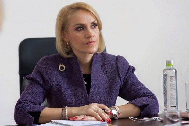 Gabriela Firea a făcut plângere penală împotriva celor care au răspândit informații false în ziua codului galben în Capitală