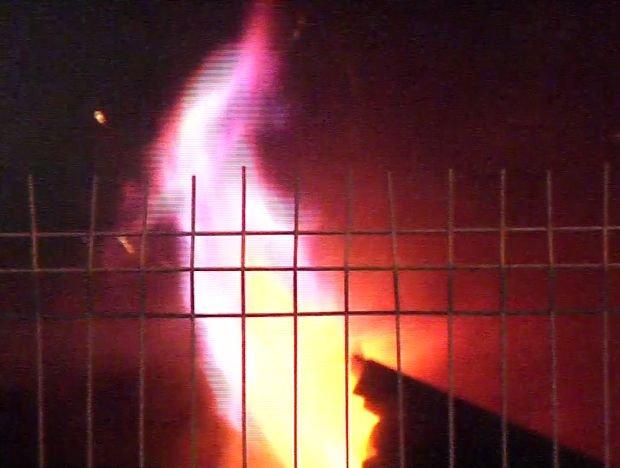 Incendiu violent în Capitală. Șase case distruse de flăcări