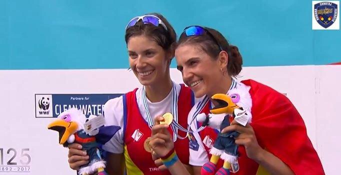 Aur pentru România la Campionatele Mondiale de canotaj în proba feminină de dublu vâsle