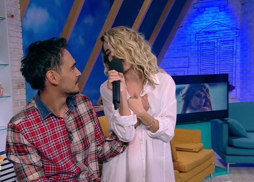 "Lidia Buble și Răzvan Simion, moment extrem de emoționant în direct la ""Neatza"""