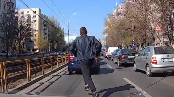Un bărbat a fost omorât într-o intersecţie din Bucureşti după ce s-a luat la ceartă cu un alt şofer
