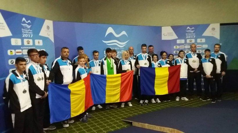 Performanță pentru România la Jocurile Europene Paralimpice de tineret, la Genova. Sportivii au reușit să câștige nouă medalii