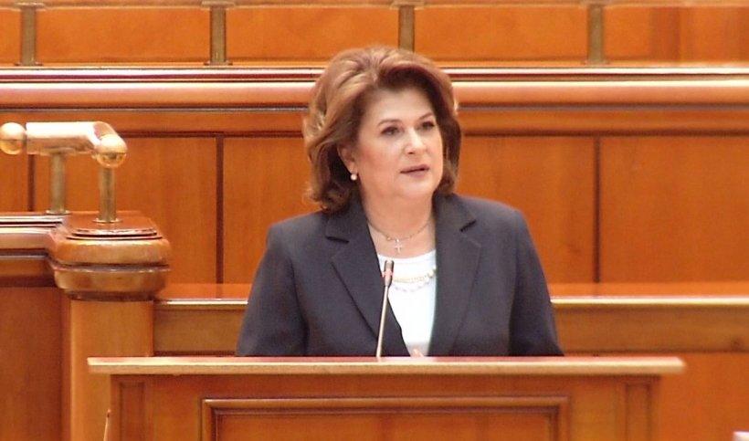 """Rovana Plumb, discurs în fața parlamentarilor: """"Votul de marți nu e pentru Rovana Plumb, este un vot pentru a pune capăt domniei abuzurilor"""""""