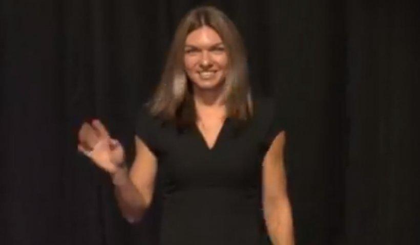 Simona Halep, declarație inedită la Singapore. Ce a spus românca în momentul în care a ajuns pe scenă