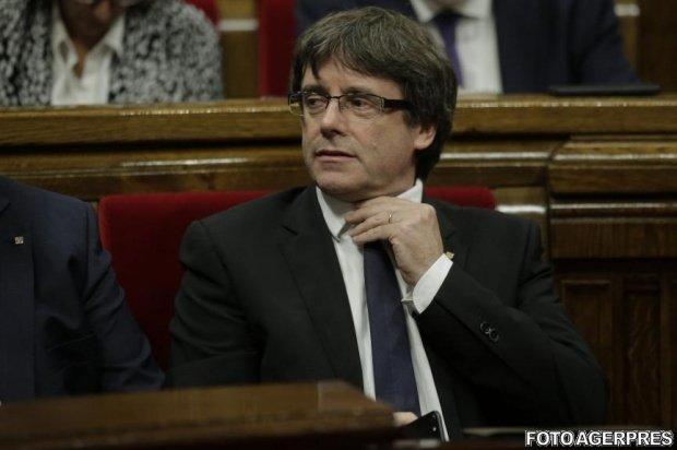 Carles Puigdemont refuză să dea explicaţii cu privire la independenţa Cataloniei, în faţa Senatului Spaniei