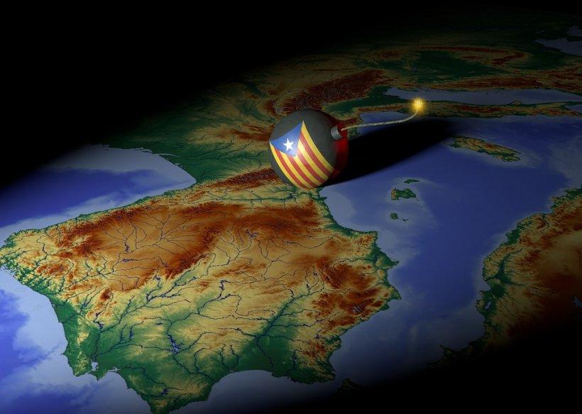 Cutremur pe bursă, după declararea independenţei de către Catalonia