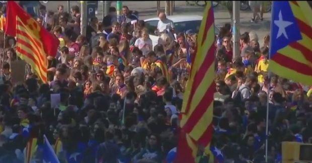 Tensiuni în Spania. Zi decisivă pentru viitorul Cataloniei- VIDEO