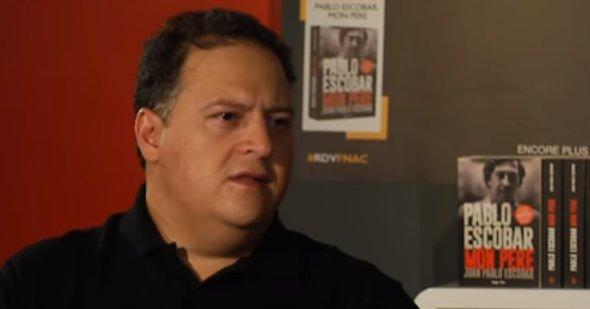 """Fiul lui Pablo Escobar rupe tăcerea: """"L-am implorat să înceteze de nenumărate ori"""" - VIDEO"""