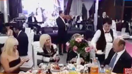 Imaginile Serii Traian Băsescu La Nuntă Cu Elena Udrea