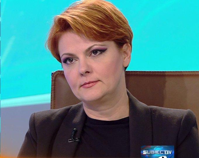 """Olguța Vasilescu, explicații referitoare la legea salarizării. """"Tot ce am promis în campanie vom face"""""""