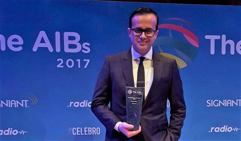 """Performanță mondială pentru Antena 3. Mihai Gâdea a obținut Premiul """"Prezentatorul Anului 2017"""""""